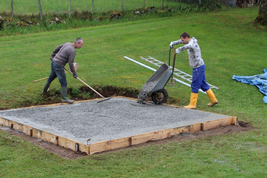 Construction d un four pizza pain barbecue four de for Construction four a pain